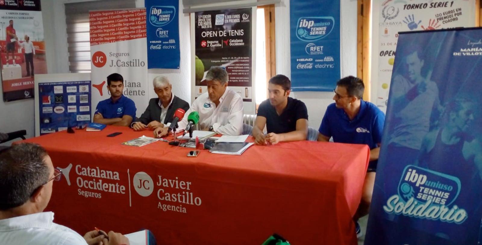 Compromiso Social Presentación Open de Tenis Segurpos J. Castillo.