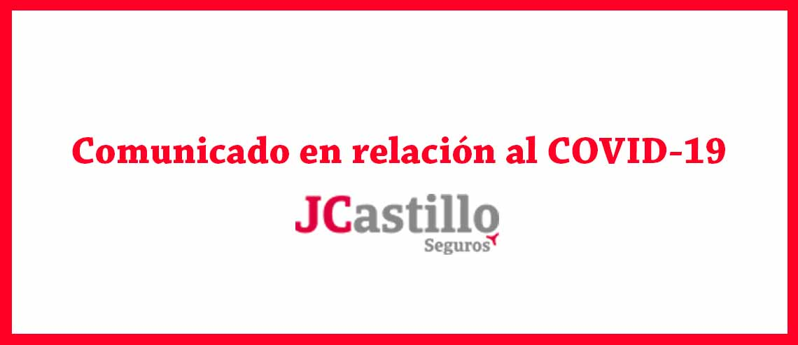 Comunicado COVID-19 JCastillo