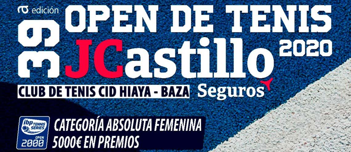 Open de tenis jcastillo 2020